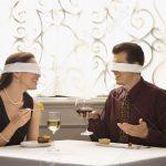 A Blindfolded Romantic Dinner Date for 2
