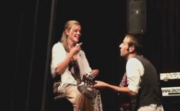 Brent and Sarah's Magic Show Proposal