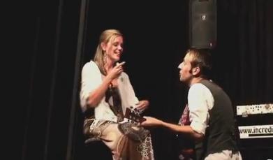 Brent and Sarah's Magic Show Proposal