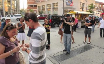 Mark and Mindi's Street Magic Marriage Proposal