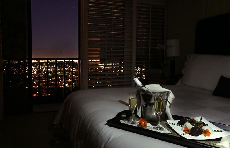 Romantic Room Service