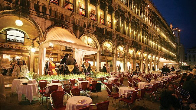 Romantic Restaurants in Venice
