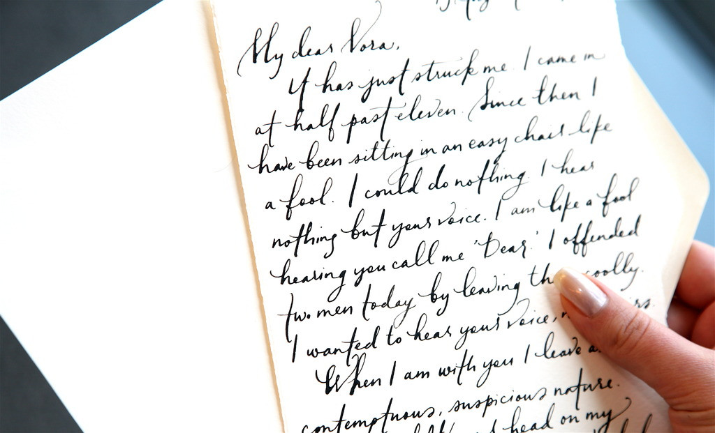 how to write a love letter to a girl