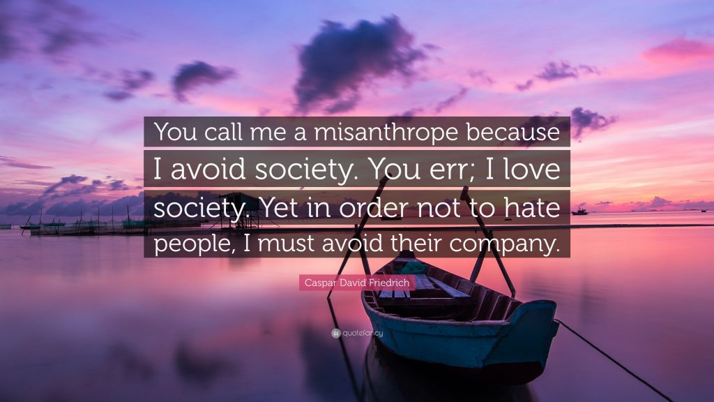 Signs You Are a People-Hating Misanthrope