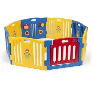 Kidzone Baby Playpen Kids 8 Panel Safety Play Center Yard Review