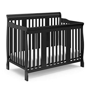 StorkCraft Tuscany 4-in-1 Convertible Crib Black Review