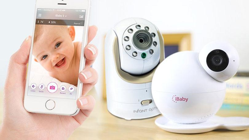 Image result for The perfect Wi-Fi baby monitors to connect with the mobile phone