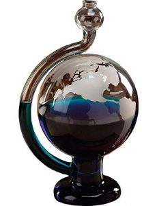 Globe Barometer Glass