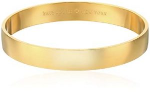 Kate Spade York As Good As Gold Gold-Tone Idiom Bangle Bracelet