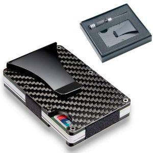 Carbon Fiber Credit Card Holder RFID