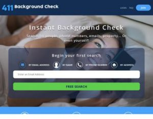 411 Background Check