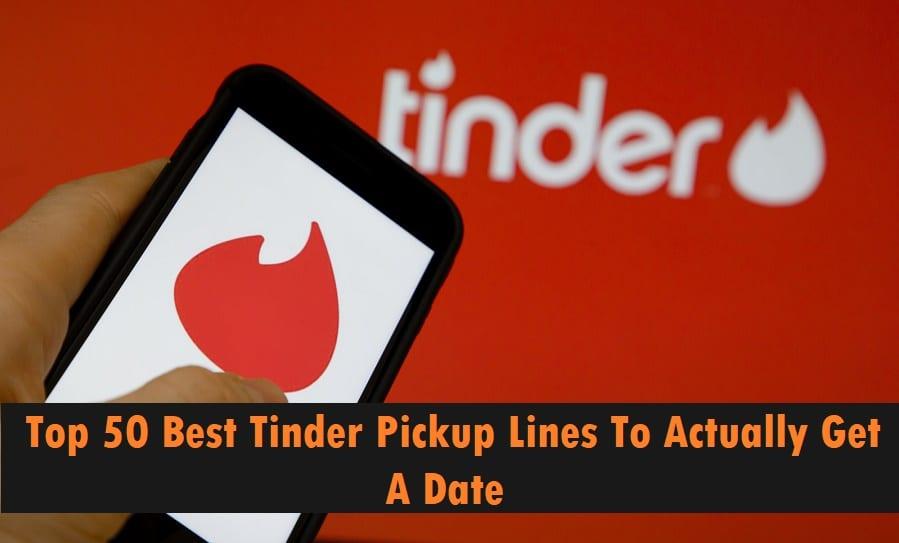 best pick up lines for tinder